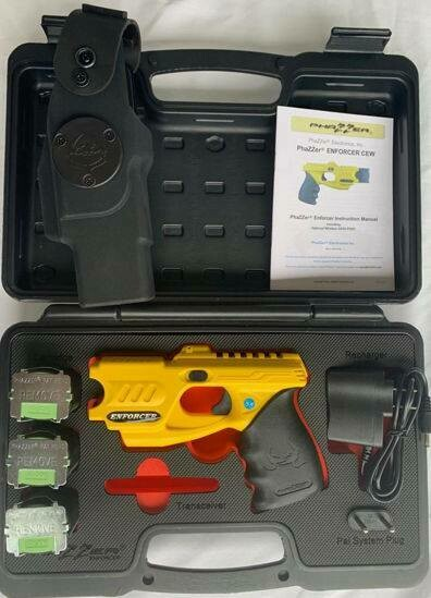 Law Enforcement Package Deal #2-Yellow Phazzer With Data Port - Taser trade in
