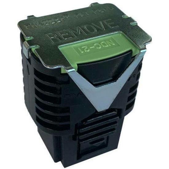 PhaZZer NEW Design 21' Dart Probe Cartridge Lime Green Blast Doors (Patent No. US D866, 702 S) -  10 (ten) Cartridges total