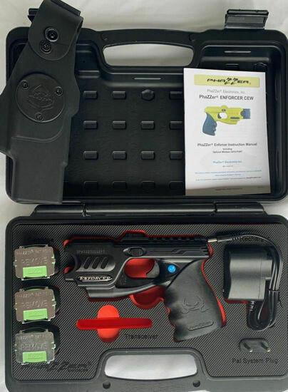 PHAZZER ENFORCER COMPLETE SET - BLACK WITH DATA PORT