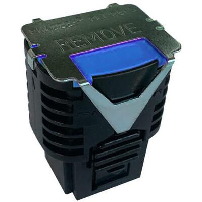 PhaZZer NEW Design 21' TRAINING Dart Probe Cartridge Blue Blast Doors (Patent No. US D866, 702 S)  -  10 (ten) Cartridges total