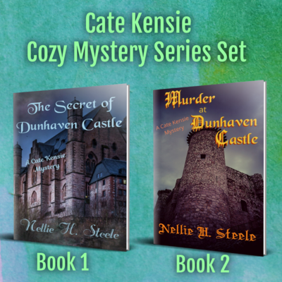 Cate Kensie Cozy Mystery Series Two Book Set - Books 1 and 2