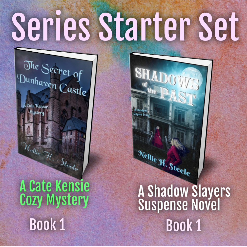 Series Starters Two Book Set - Cate Kensie Mysteries Book 1 and Shadow Slayer Stories Book 1