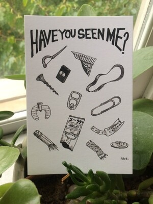 POSTCARD | Have You Seen Me?