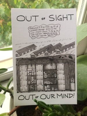 POSTCARD | Out of Sight / Out of Our Mind