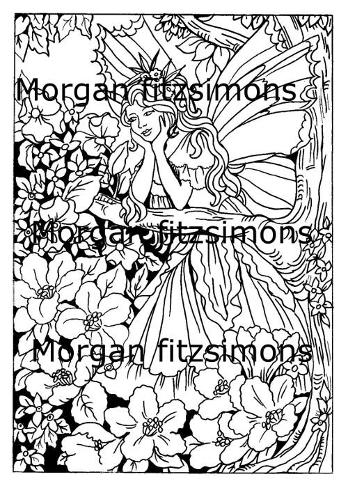 Fairy Children Digi Stamp 6