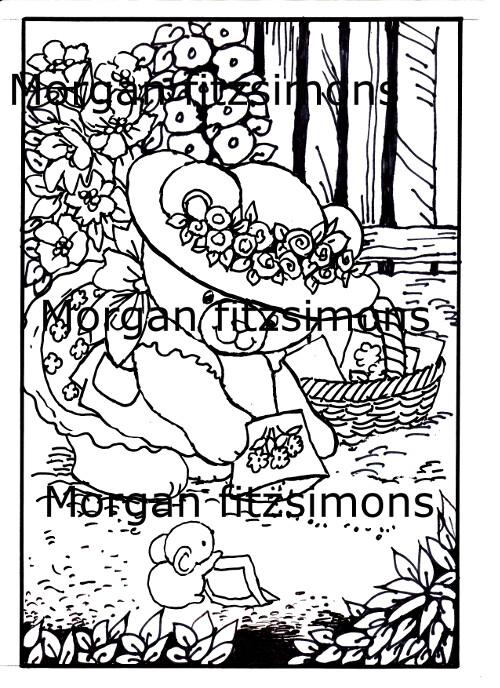 Morgan`s Teddy world  Digi Stamp 3