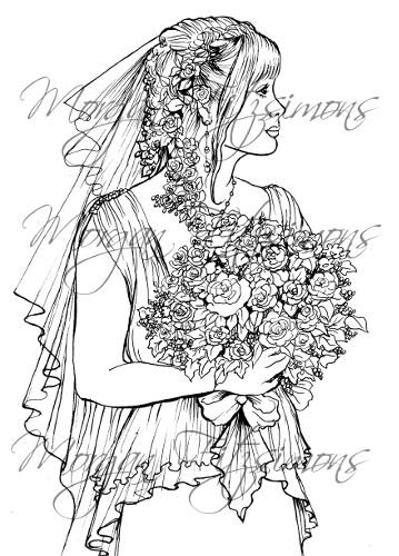 Wedding Digi Stamp 7