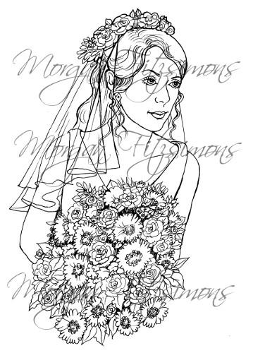Wedding Digi Stamp 8