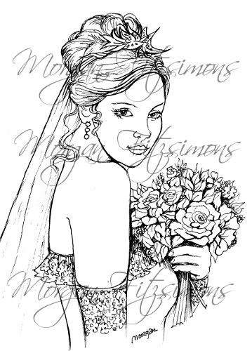 Wedding Digi Stamp 6