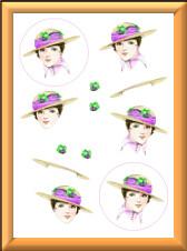 3D 1920s Hat sheet 2