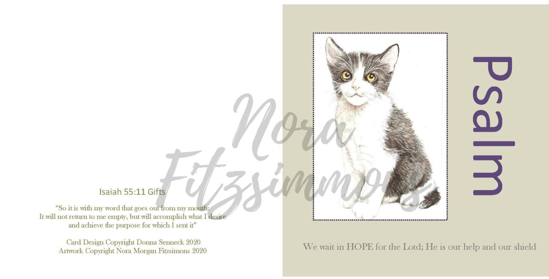 Kitty Faith Card