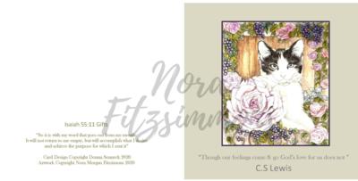 CS Lewis Faith Card
