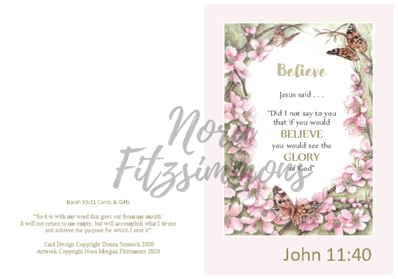 Believe - Faith Card