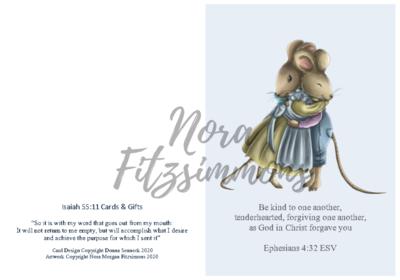 Be Kind And Tenderhearted - Faith Card