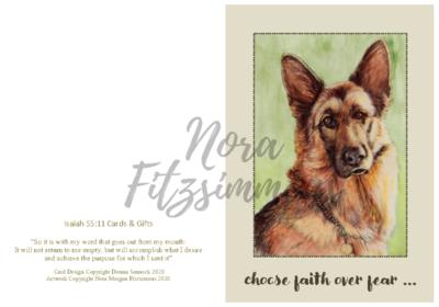 Choose Faith Over Fear - Faith Card