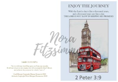 Enjoy The Journey - Faith Card