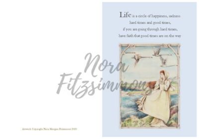 Life is a Circle of Happiness - Faith Card