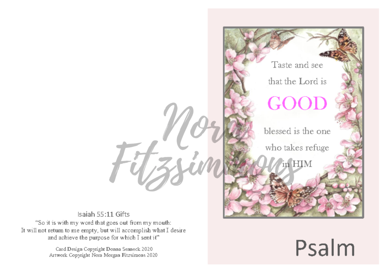 The Lord is Good - Faith Card
