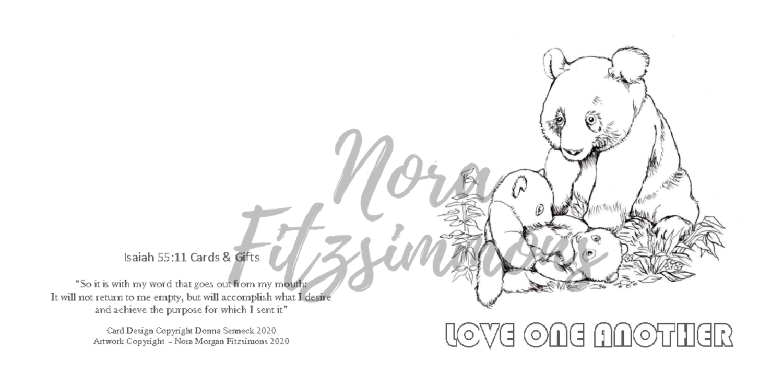 Love One Another - Faith Card
