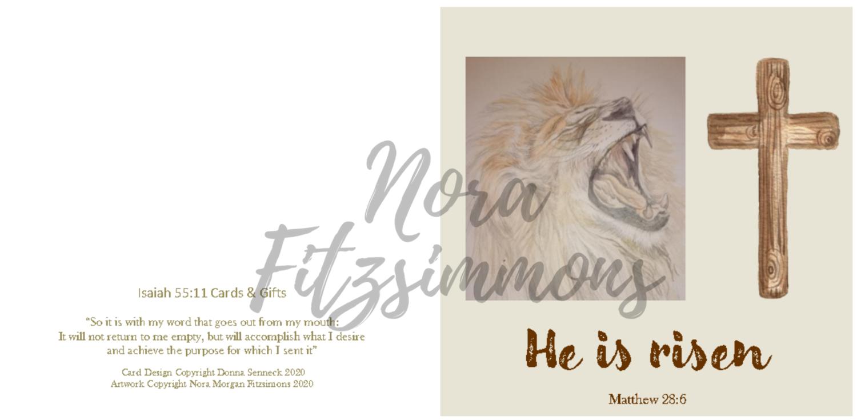 He Is Risen - Faith Card
