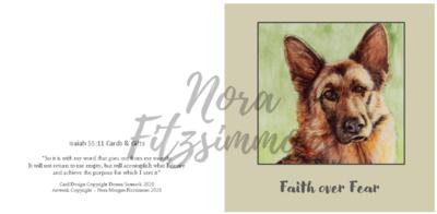 Faith Over Fear - Faith Card