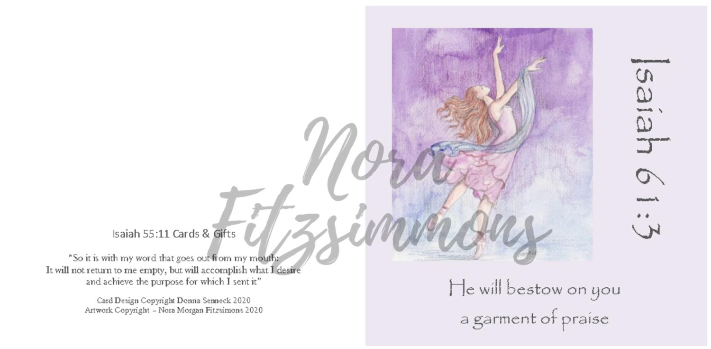 Garment of Praise - Faith Card