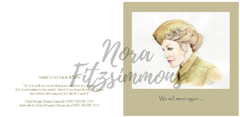 We Will Meet Again - Faith Card