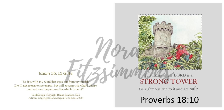Strong Tower - Faith Card