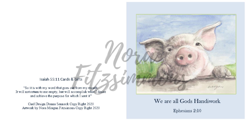 We Are All God's Handiwork - Faith Card