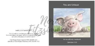 You Are Unique - Faith Card