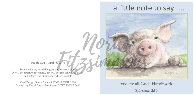 A little Note To Say 3 - Faith Card