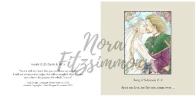 Arise My Love - Faith Card