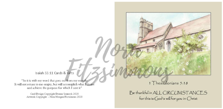 Be Thankful - Faith Card