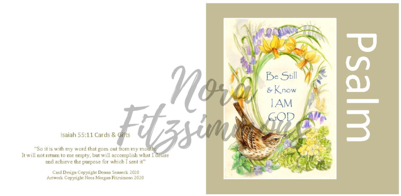 Be Still Wren - Faith Card