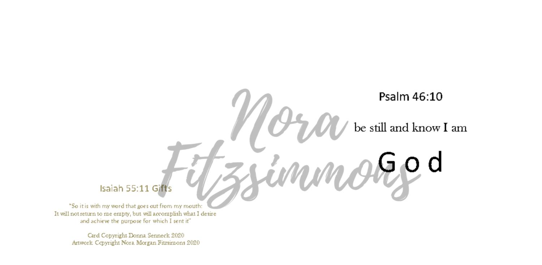 Be Still Blank - Faith Card