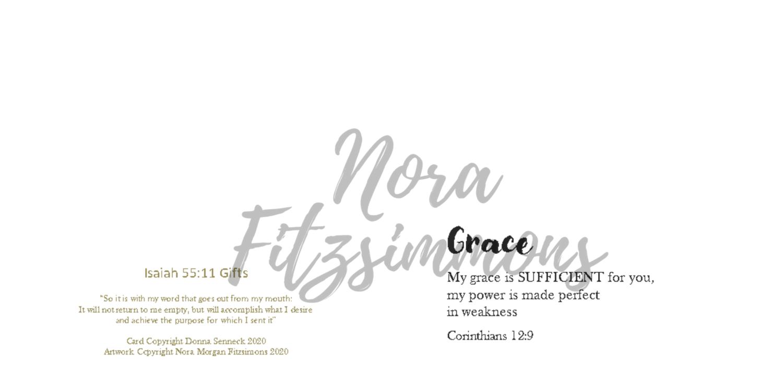 Grace Is Sufficient - Faith Card