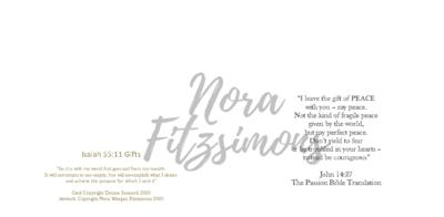 Gift Of Peace - Faith Card