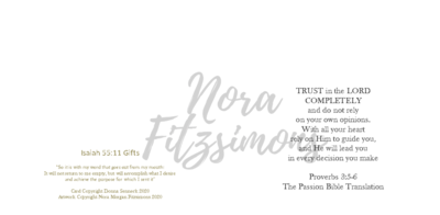 Trust In The Lord Completely - Faith Card