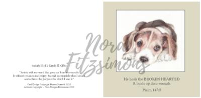 Brokenhearted - Faith Card