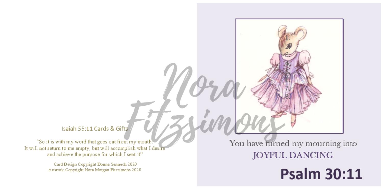 Joyful Dancing - Faith Card