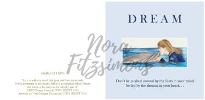 Dreams In Your Heart - Faith Card