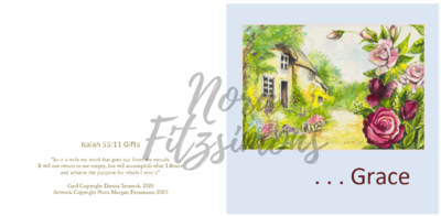 Grace Cottage - Faith Card