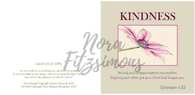 Kindness Clematis 2- Faith Card