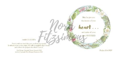 Desires Of Your Heart - Faith Card