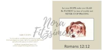 Never Stop Praying - Faith Card