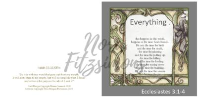 Everything - Faith Card
