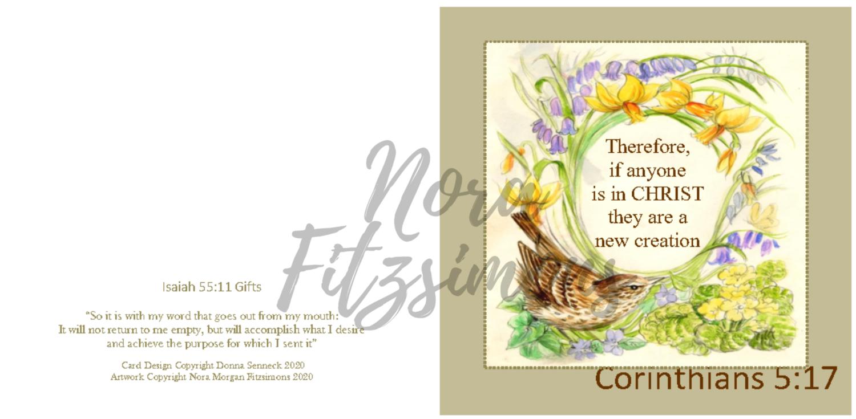 New Creation - Faith Card