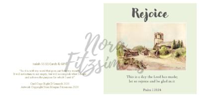 Rejoice Church Picture  - Faith Card
