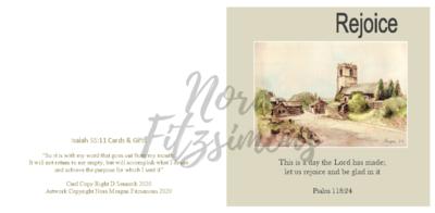 Rejoice Church - Faith Card