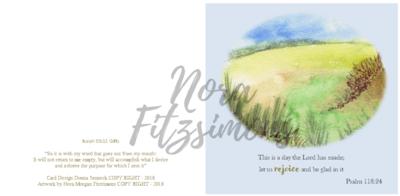 Rejoice Field - Faith Card